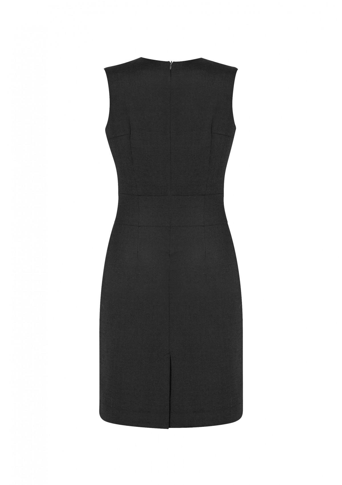 3030b56a42371 Ladies Sleeveless V Neck Cool Stretch Dress - The Uniform Centre