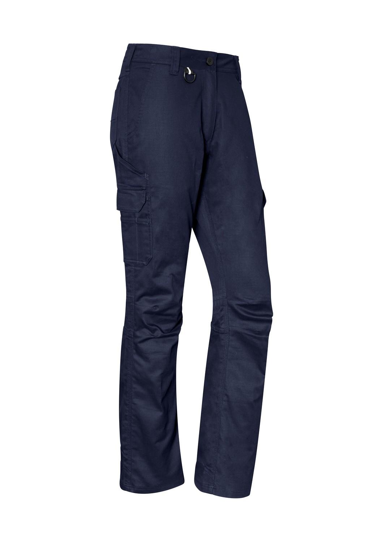 Womens ZP704 SYZMIK 100% Cotton Work Pants - The Uniform Centre 7a7800ed8c