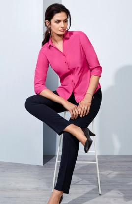 Ultra Comfort Zip front with 3/4 elasticated waist Pant