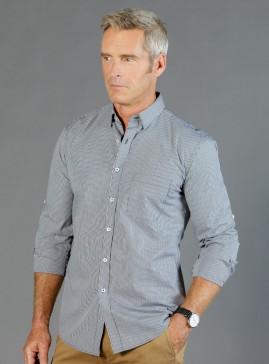 Westgarth Gingham Long Sleeve Slim Fit Shirt - Men
