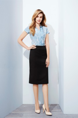 Relaxed Fit Lined Skirt - Cool Stretch - BIZ Corporates