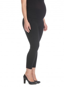 Maternity Cropped Stretch Bengaline Pant
