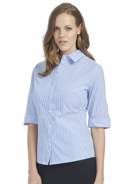 Mid Sleeve Shirt with Split Cuff