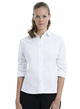 Mid Sleeve Shirt with Gathered Sleeve