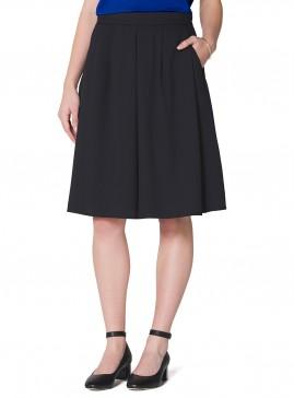Full Soft Skirt with Pockets