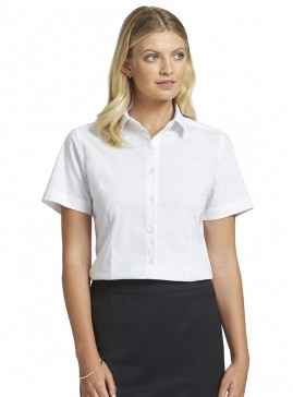 Women's White Short Sleeve Shirt