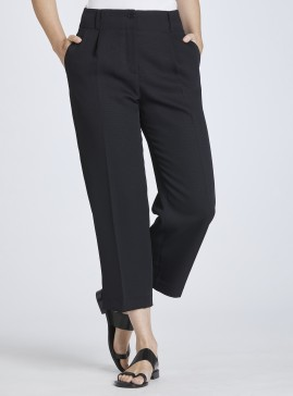 Waisted Cropped Trousers