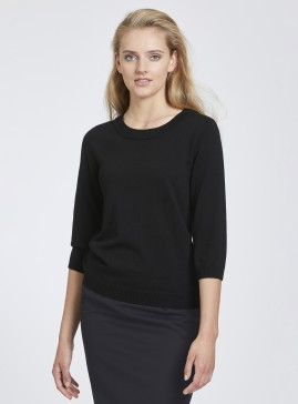 Crew Neck Merino Mid Sleeve Top