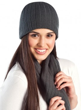 Cable Knit Acrylic Beanie