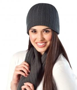 Cable Knit Acrylic Beanie