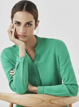 Women's Juliette Plain Long Sleeve Blouse