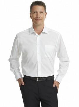 Men's White Standard Fit Shirt