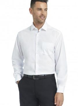 Men's White Poplin Shirt