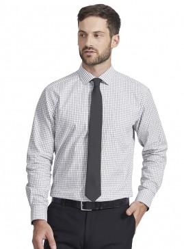Men's Black/white Double Check Tailored Shirt