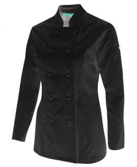 Ladies Long Sleeve Chef Jacket
