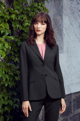 CLEARANCE - Longerline Jacket - Wool Stretch