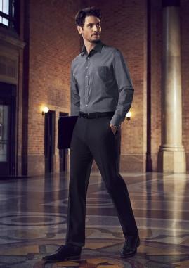 Men's Siena Slim Fit Flat Front Pant