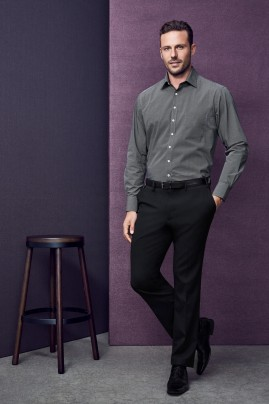 Mens Slimline Polyester/Wool  Pant