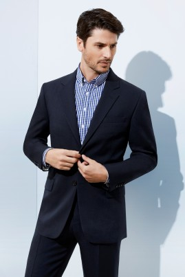 Mens Single Breasted Jacket Cool Stretch