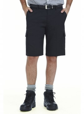 Cotton Blend Cargo Short