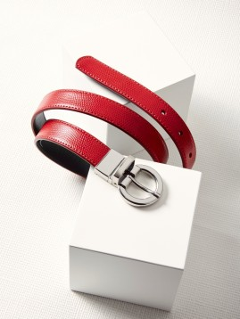 Ladies Leather Reversible Belt