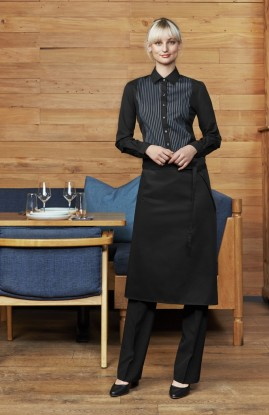 Bistro Black Below Knee Waiters Apron