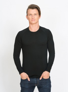 Men's Long Sleeve Base Layer Top - Crew Neck