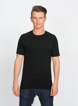 Men's Short Sleeve Base Layer Top - Crew Neck