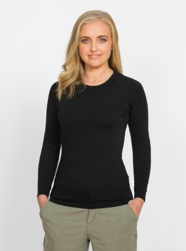 Women's Long Sleeve Base Layer Top - Crew Neck