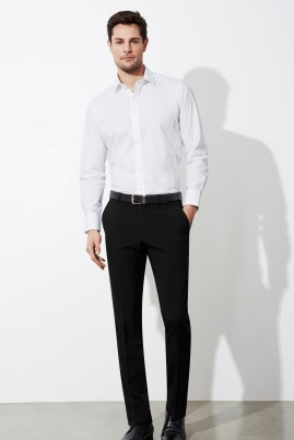 Mens Classic Modern Tapered Slim Leg Pant