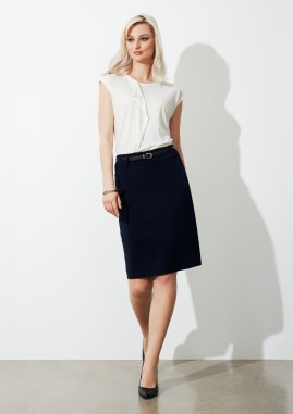 Ladies Loren Knee-length Stretch Skirt