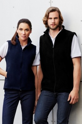 Mens Low Pill Micro Fleece Vest