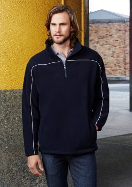 Mens Core 1/2 Zip Microfleece Pullover