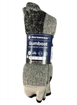 Merino Gumboot Sock (3 pack)