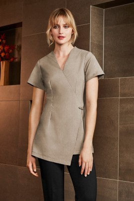 Ladies Spa Modern Wrap Style Beauty Tunics