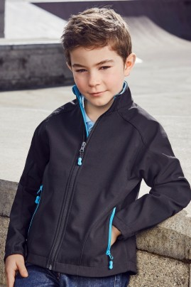 Kids Geneva Soft Shell Jacket
