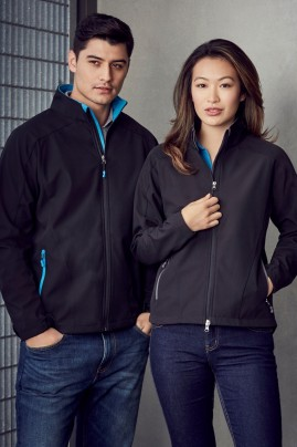 Mens Geneva BIZ TECH Soft Shell Jacket