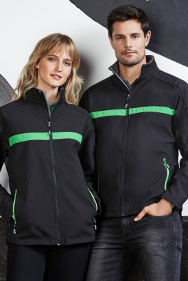 Unisex Charger BIZ TECH Soft Shell Jacket