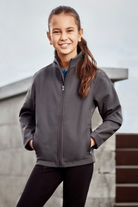 Kids Apex Economy Priced Lightweight Softshell Jacket
