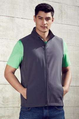 Mens APEX Economy Priced Lightweight Softshell Vest