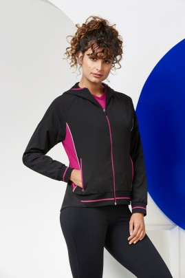 Ladies Titan Team Jacket Hooded