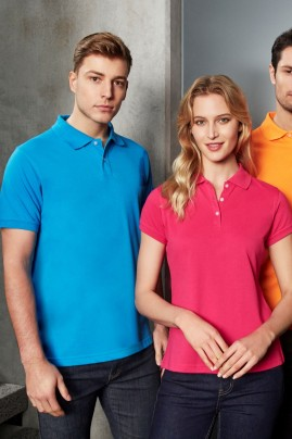 Ladies Neon Slim Fit Polo
