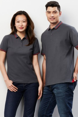Mens Jet Cotton Backed BIZCOOL Polo Shirt