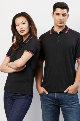 Mens Cambridge Cotton-Backed BIZCOOL Polos