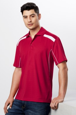 Mens United  BIZCOOL Polo Shirts