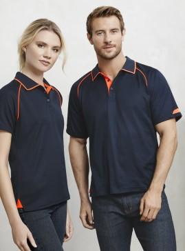 Mens Fusion BIZ COOL Cotton Backed Polyester Polo