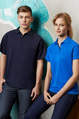 Mens Sprint BIZCOOL Mesh Polo