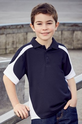 Kids Talon BIZCOOL Mesh Polo