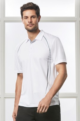 Mens Cyber Breathable Polo Shirt