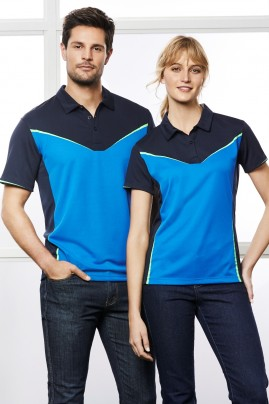 Mens Victory Breathable Polo Shirt